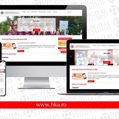 Új, korszerű weboldal a Háromszéki Közösségi Alapítvány számára