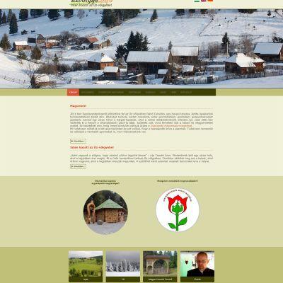 uzvolgye.info weboldal átalakítása