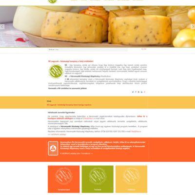 Arculatváltás a Háromszéki Közösségi Alapítvány Joomla! alapú kampány weboldalánál