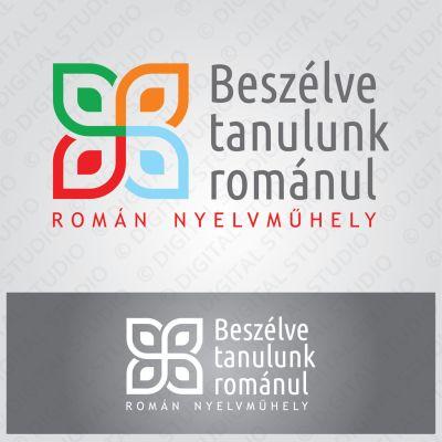 Logó és plakátterv az Eurocenter Oktatási Központ romány nyelvműhelye számára