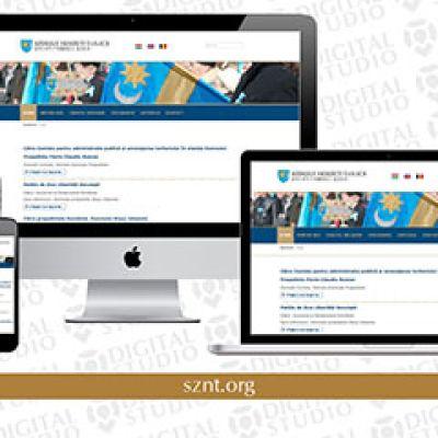 Korszerű, reszponzív weboldal a Székely Nemzeti Tanács számára