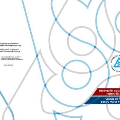 Elkészítettük a Háromszéki Vállalkozás védjegyre regisztrált cégek katalógusának grafikai tervét