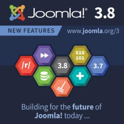 Megjelent a Joomla! 3.8-as kiadása
