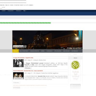 Verzióváltás és biztonsági frissítés az ügyfeleink Joomla alapú weboldalainál