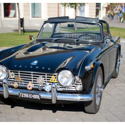 A Triumph TR4 szépsége