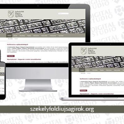 Korszerű, reszponzív weboldal a Székelyföldi Magyar Újságírók Egyesülete számára