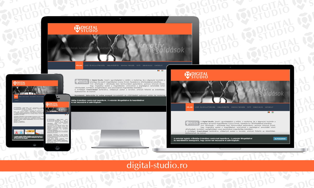 digital-studio.ro - design si dezvoltare website Digital Studio